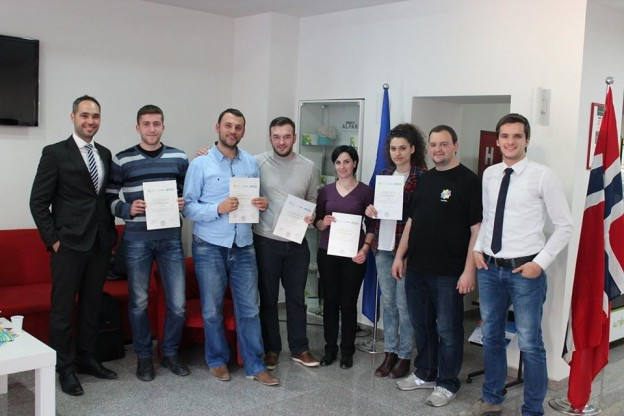 Graduation of the Android Mobile App development class