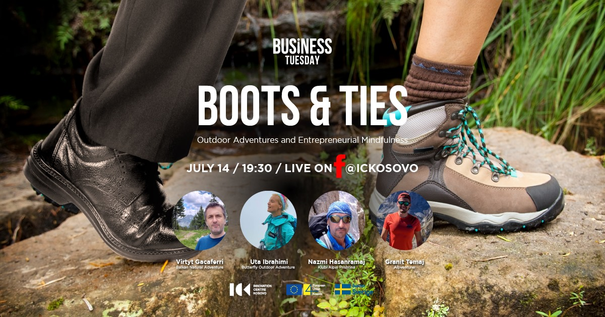 Boots and Ties - Outdoor Adventures & Entrepreneurial Mindfulness