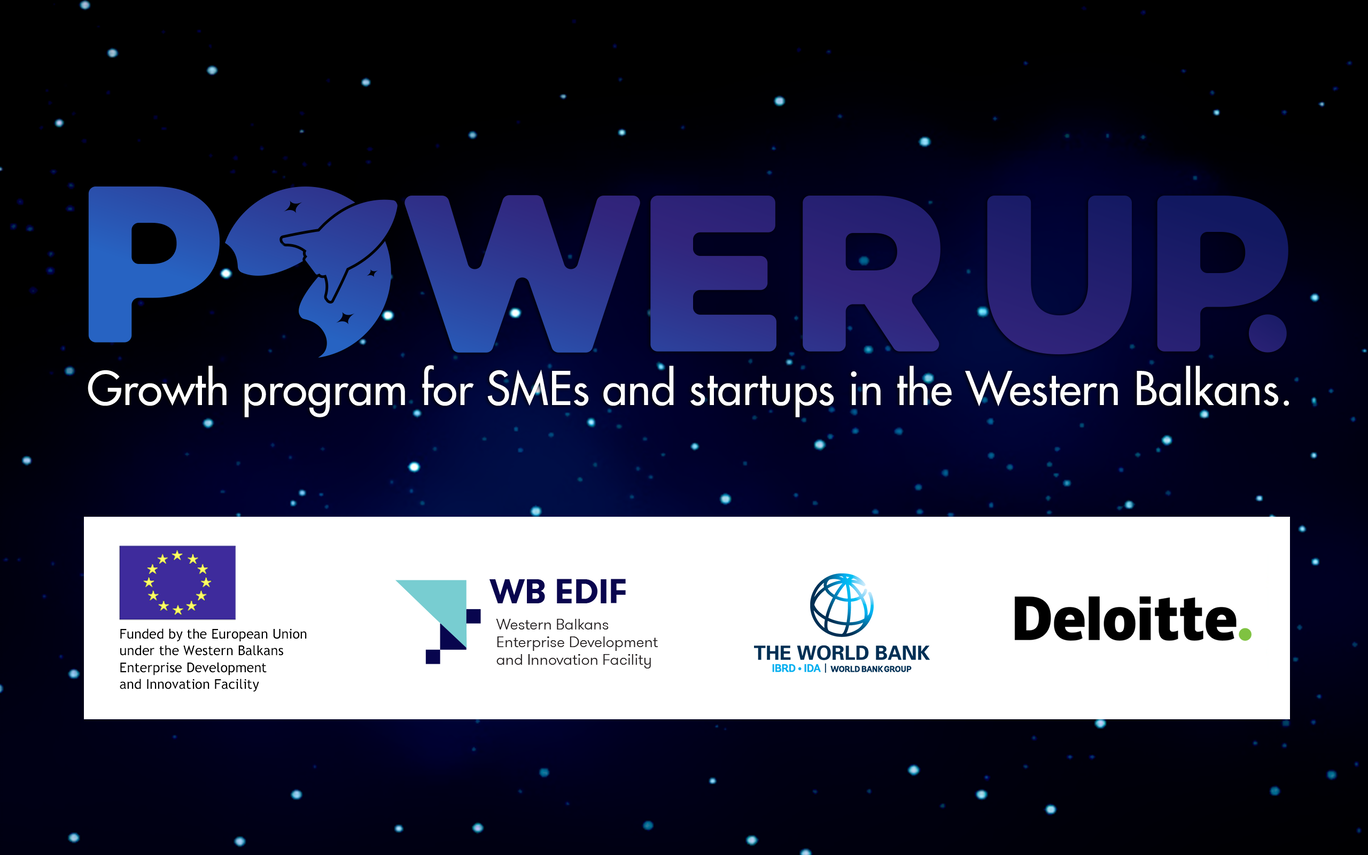 PowerUP - Growth Program for SMEs and Startups in the Western Balkans