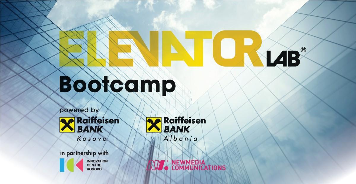 Regional Elevator Lab Bootcamp Kosovo and Albania 2020