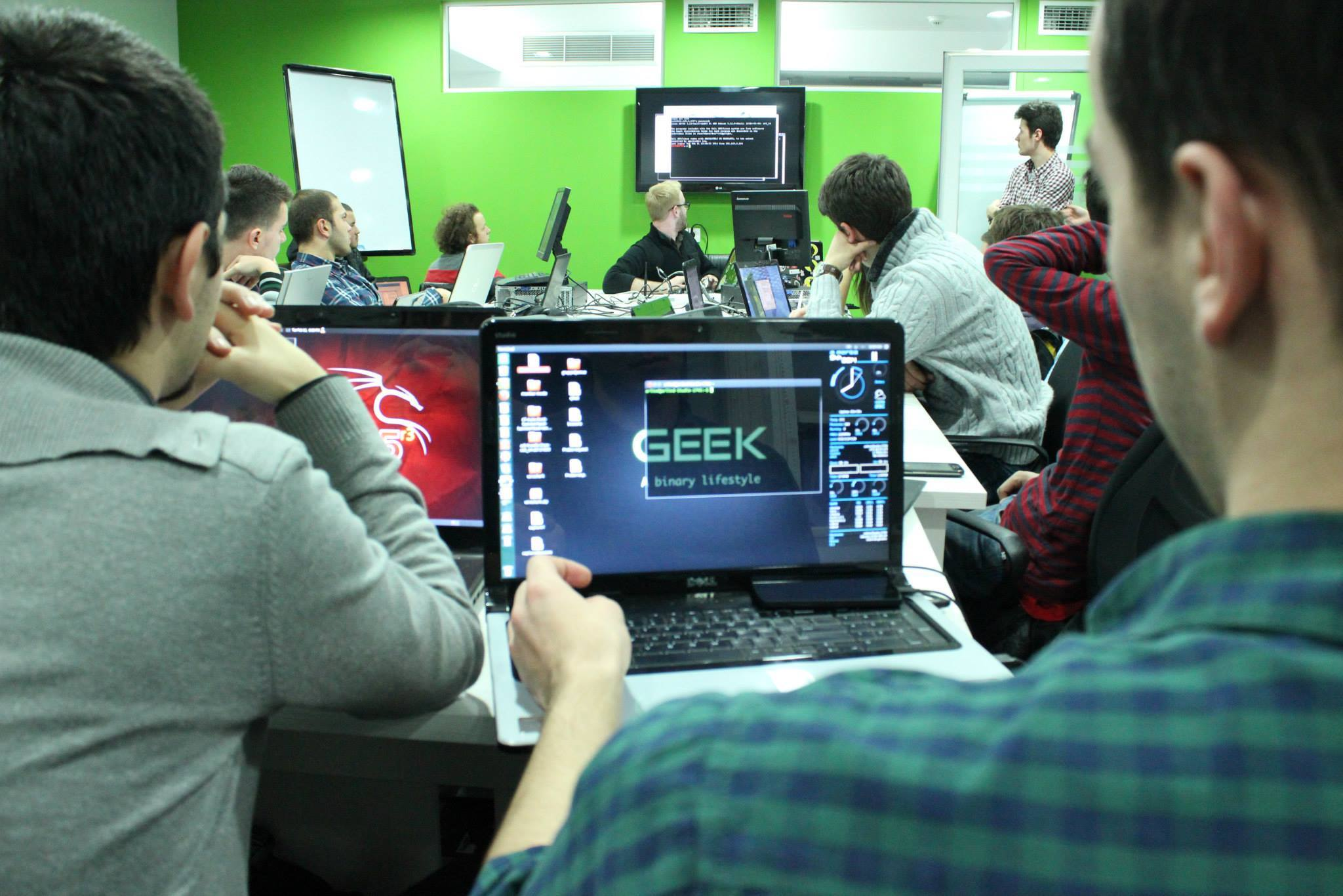 Learning to secure companies against hacking at the Cyber Academy