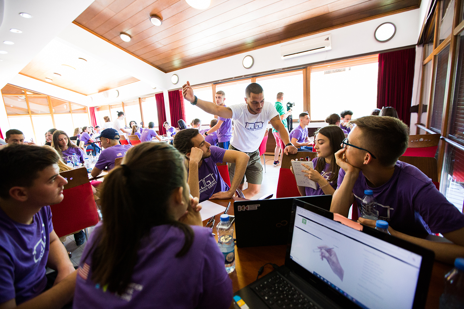 "The ""Junior Geeks"" Science and Tech Program for Kosovo students is finally here!"