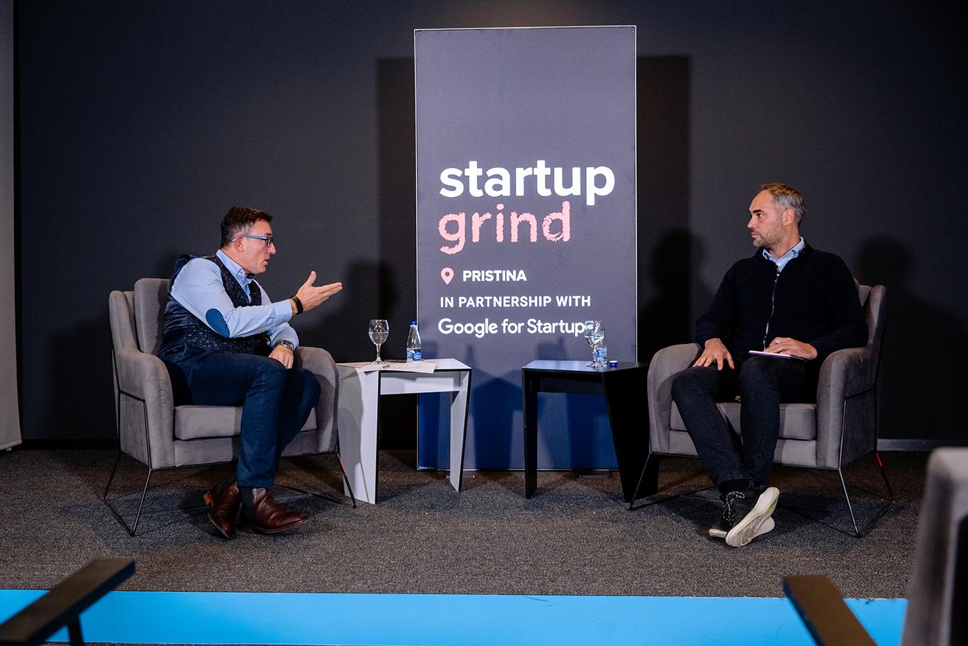 Cashing in Some Knowledge: Startup Grind with Raiffeisen's Shukri Mustafa
