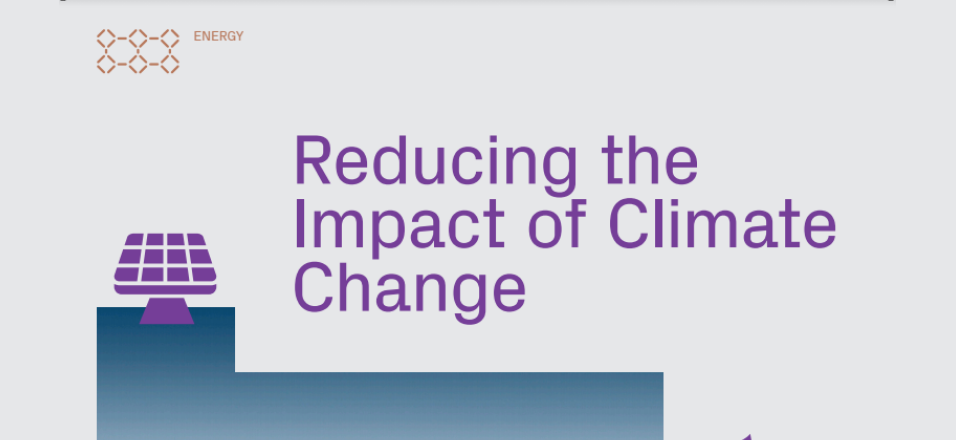 Reducing the Impact of Climate Change
