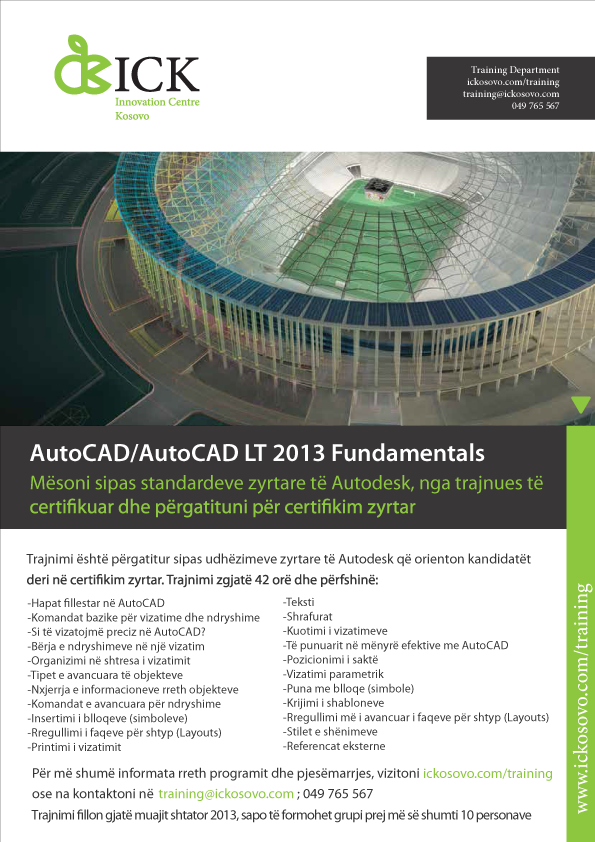 Another training on AutoCAD 2D