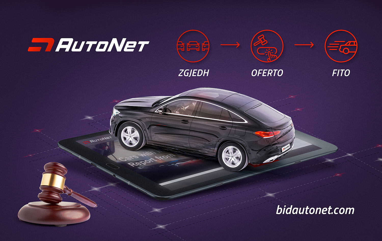 Honk a bid for Autonet: The First Online Auction System bringing international standards in Kosovo!