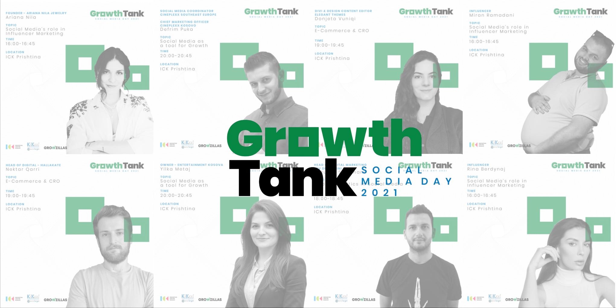 Growth Tank – Ngjarja e vitit për Marketing Digjital dhe Rrjete Sociale