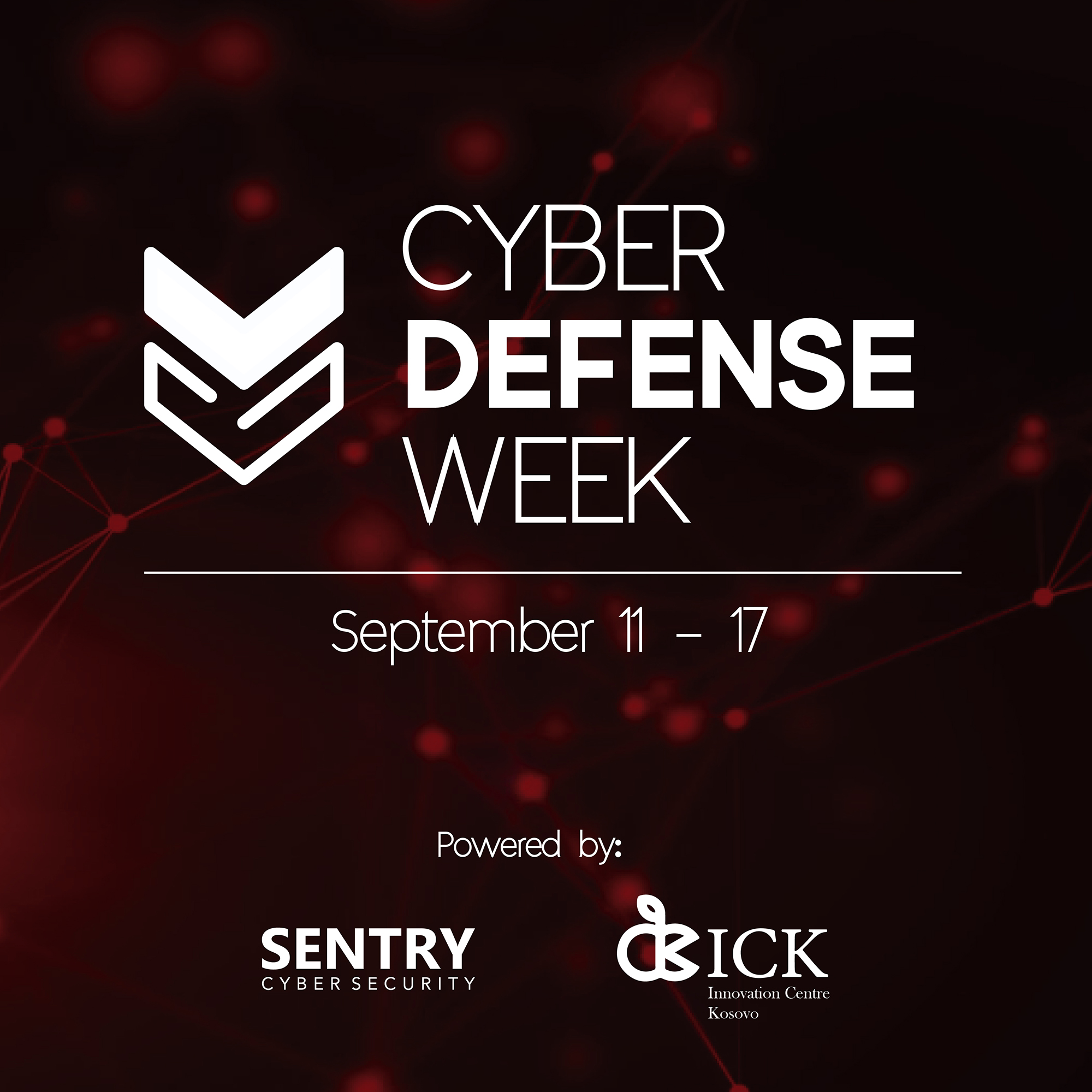 Cyber Defense Week. Yes, the entire week.