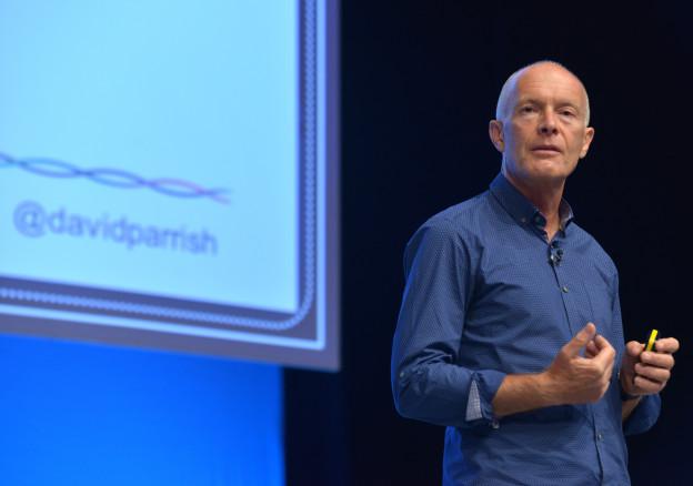 David Parrish in Prishtina on July 14