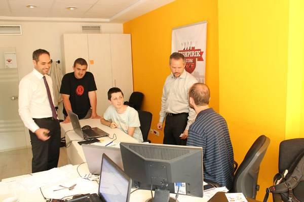 Startup City visits ICK