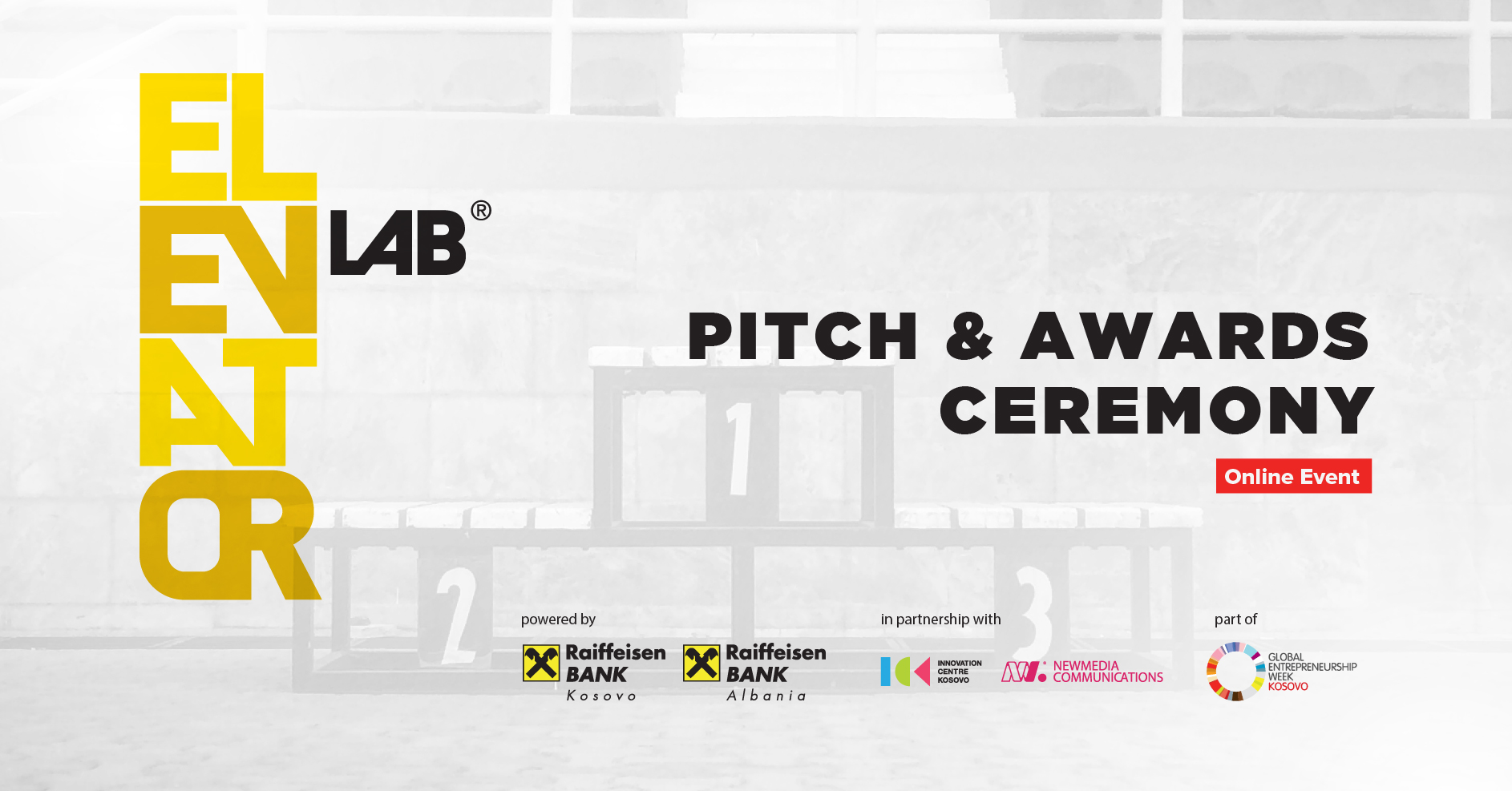 Pitch and Awards Ceremony - Elevator Lab 2020