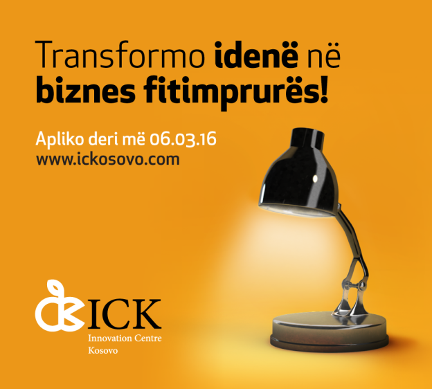 ICK helps turning ideas into a successful startup