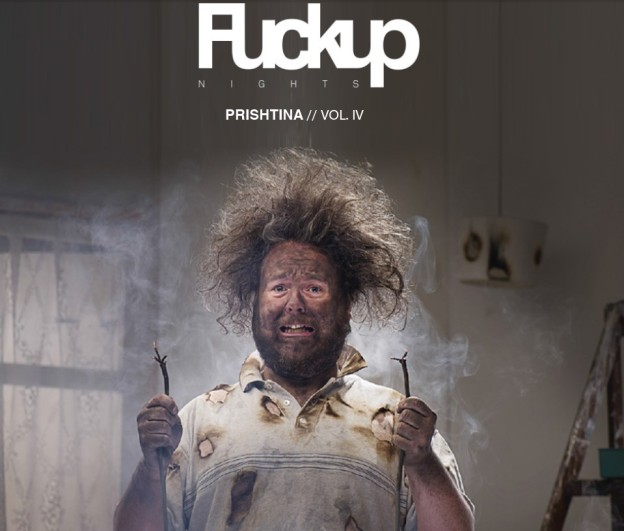 FuckUp Nights Prishtina VOL. 4