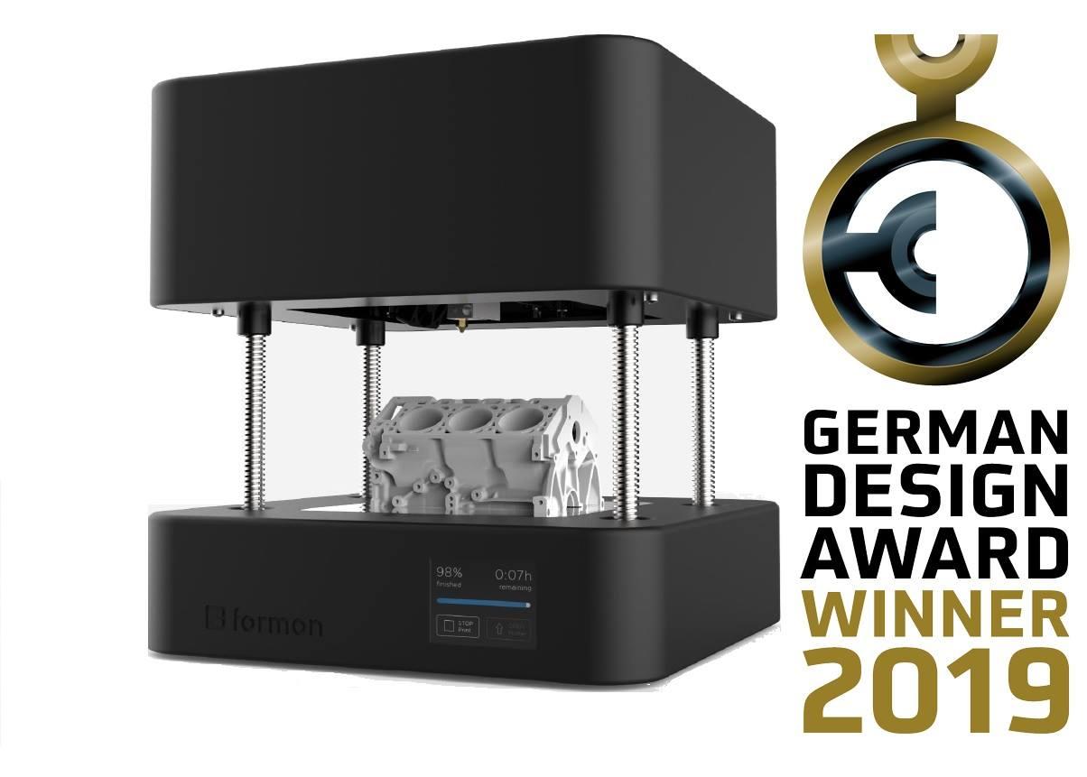 """Prodhuesi i printerëve 3D nga Kosova """"Formon"""" shpërblehet në Gjermani"""