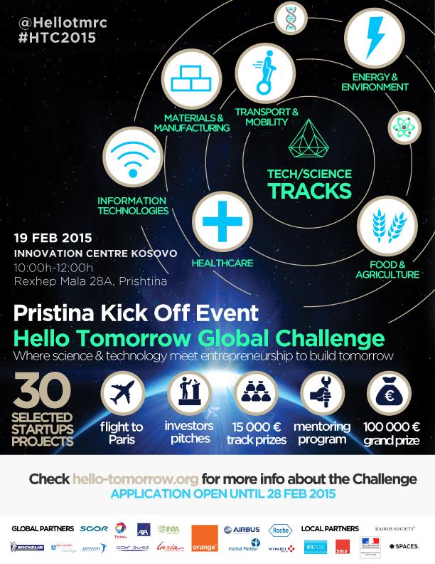 Hello Tomorrow Kick Off Pristina