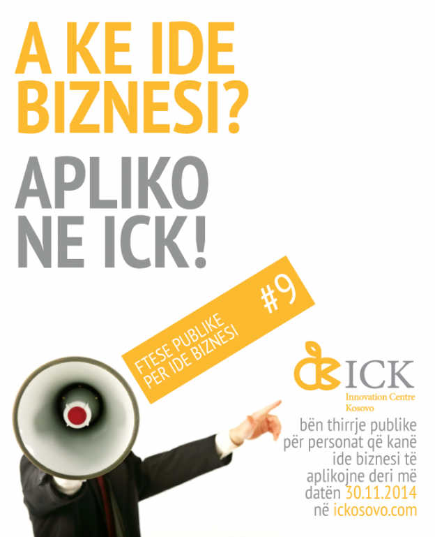 Support your business idea through the Innovation Centre Kosovo