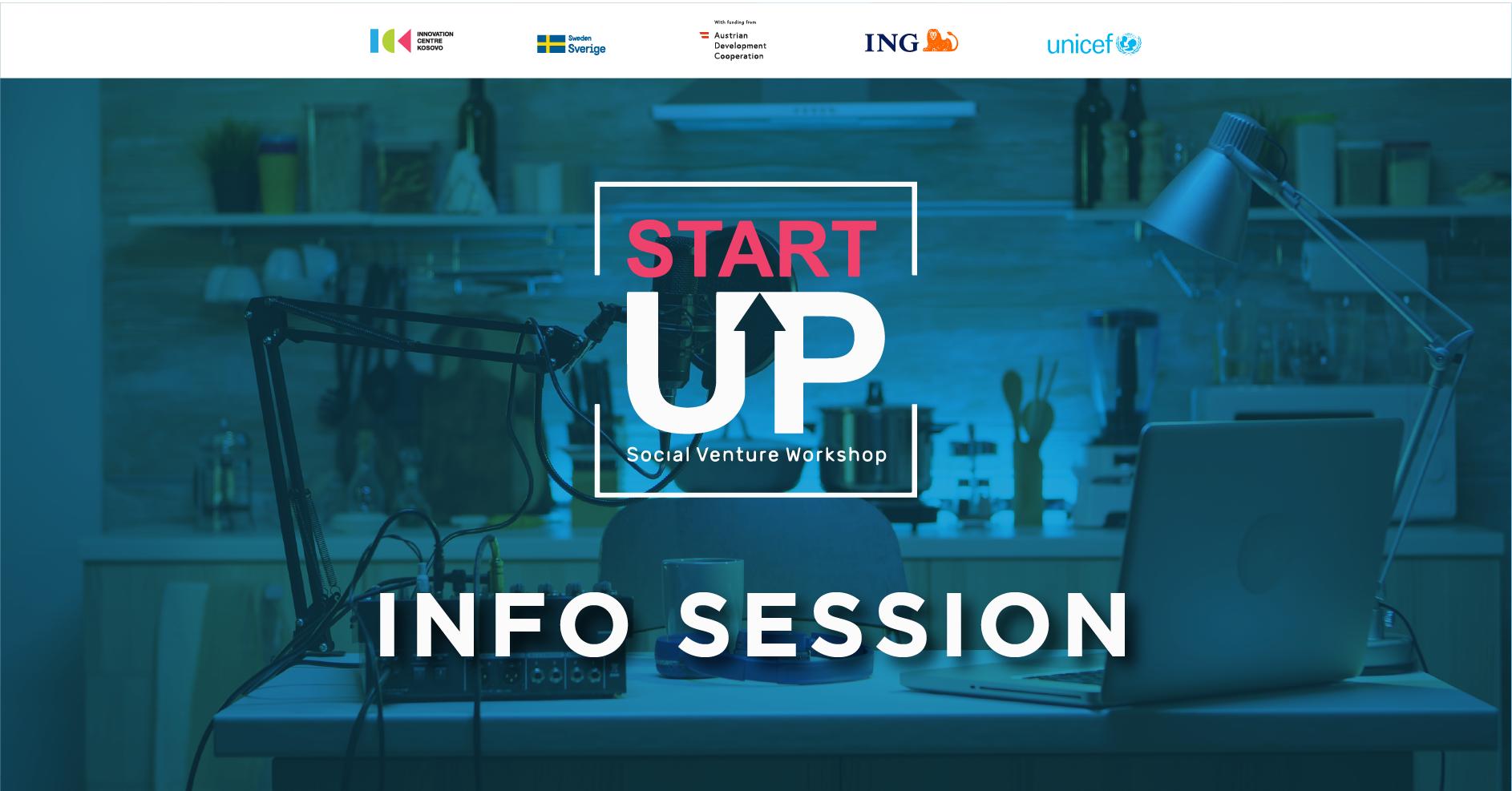 Startup Social Venture Workshop - Info Session