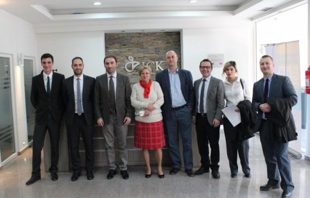 Blerand Stavileci në ICK për vizitën e parë zyrtare si ministër i MZHE