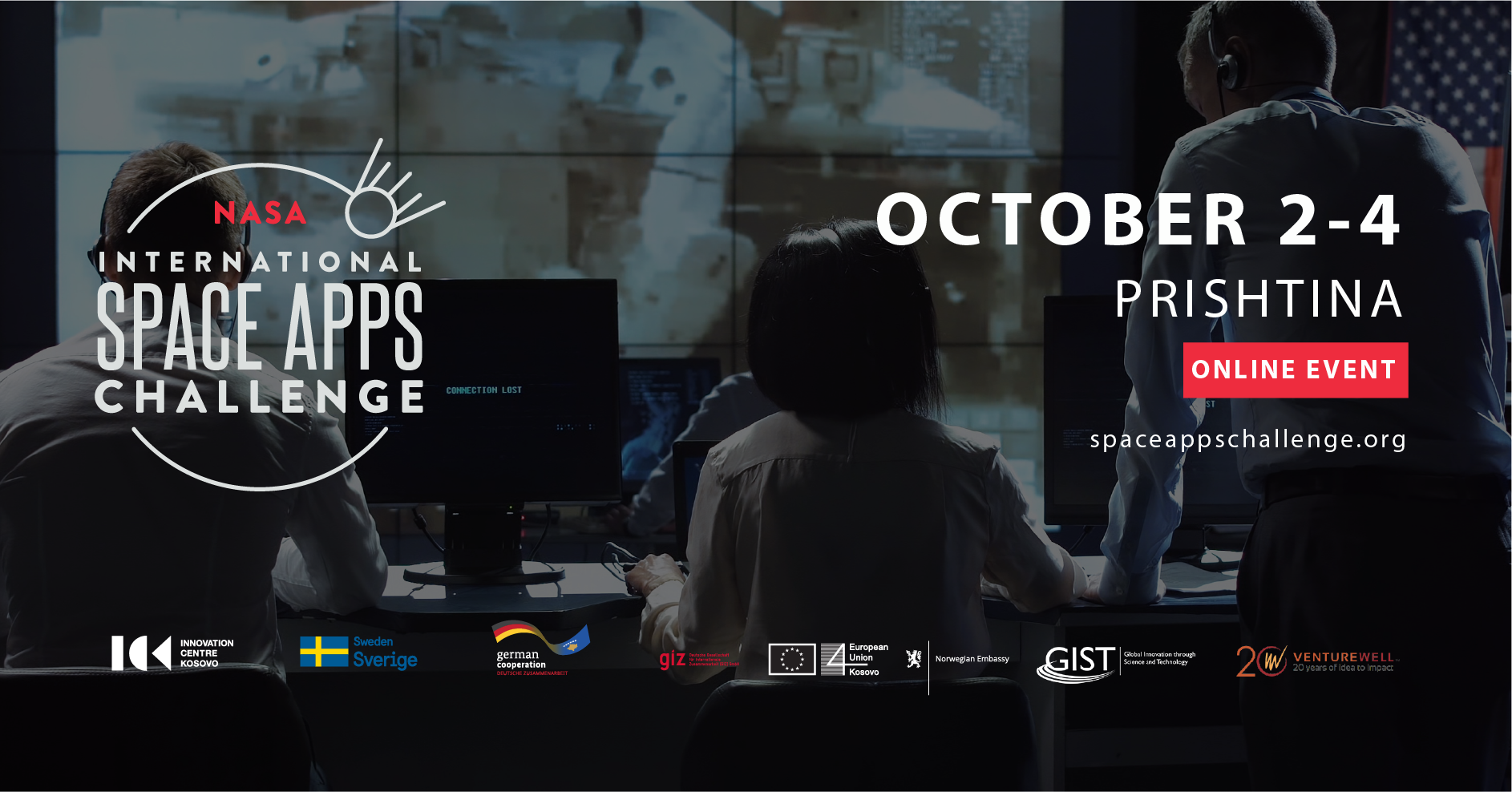 NASA Space Apps Challenge Prishtina (Online)