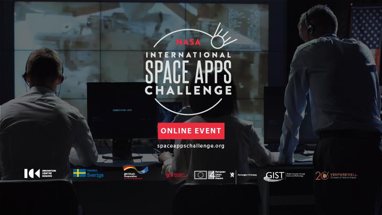 NASA Space Apps Prishtina vjen online më 2-4 Tetor