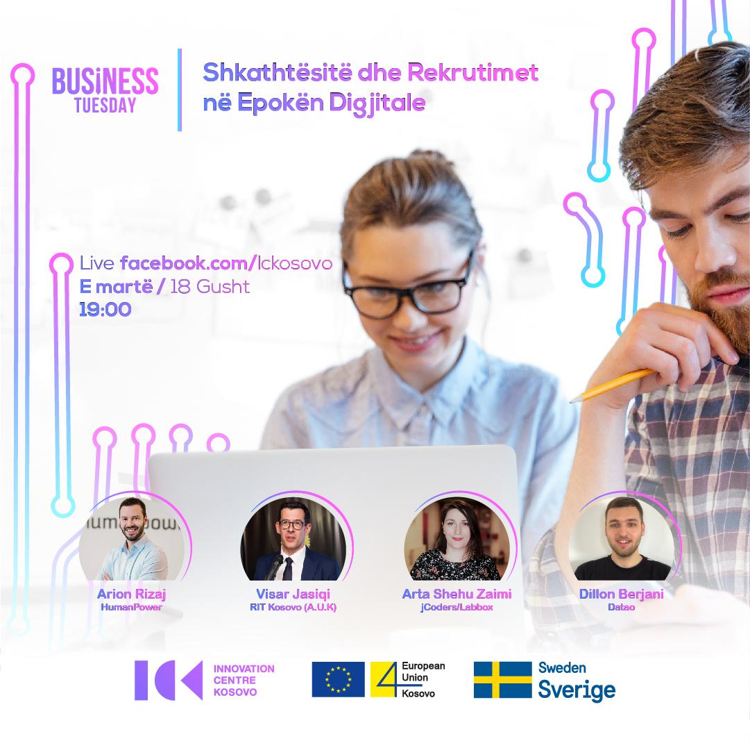Business Tuesday: Shkathtësitë & Rekrutimet në Epokën Digjitale