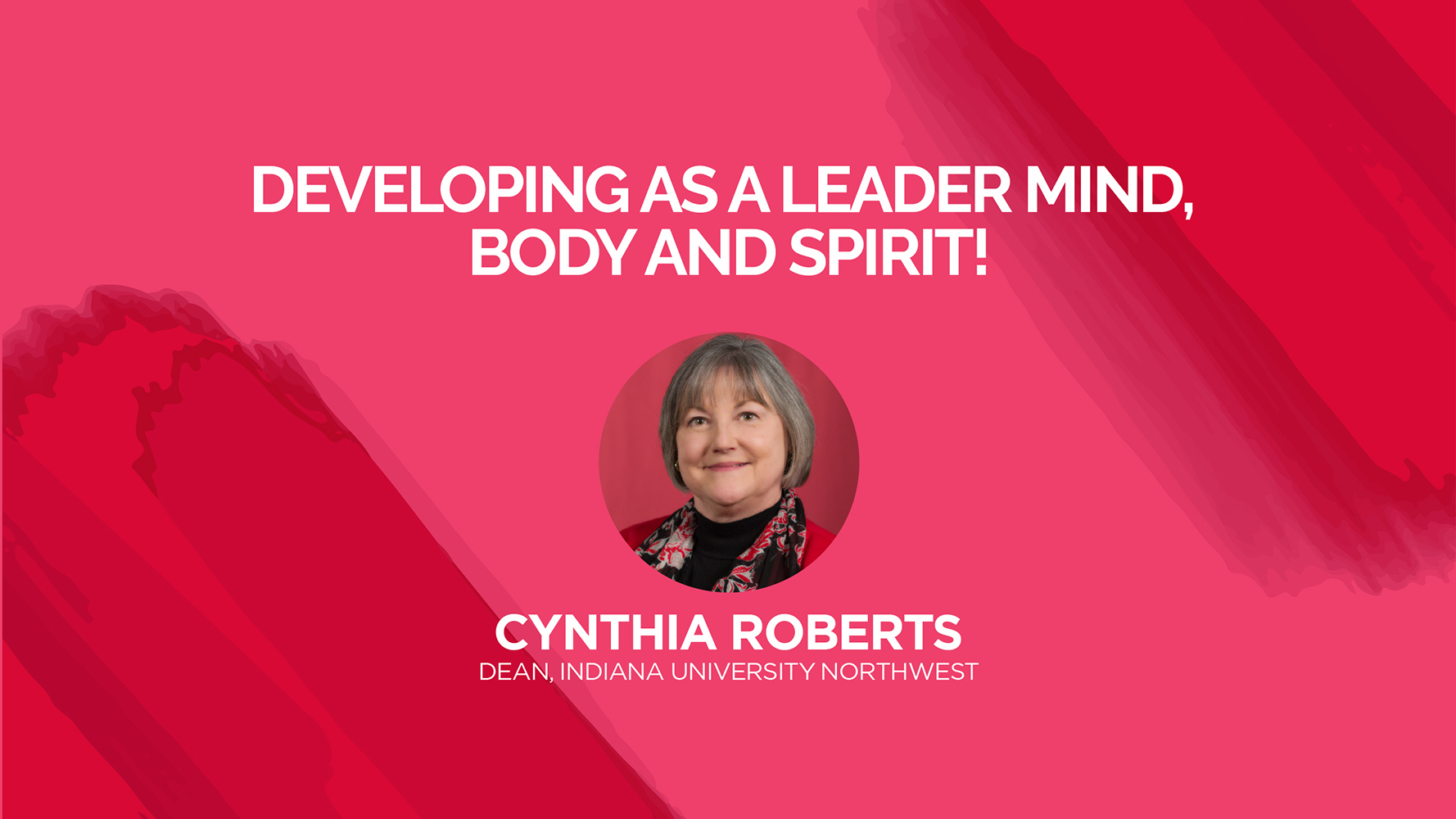 Developing as a leader mind, body and spirit