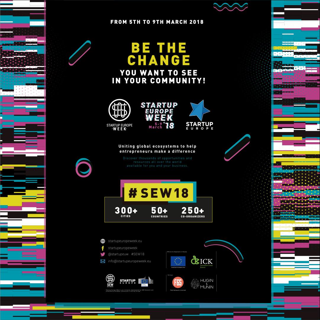 Kosovo marks Startup Europe Week 2018