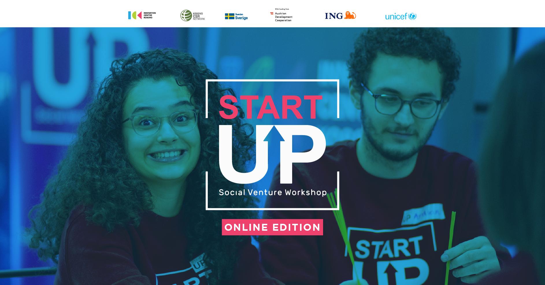 """Hapen aplikimet për edicionin e tretë të garës """"StartUP Social Venture (Online)"""" nga ICK dhe UNICEF"""