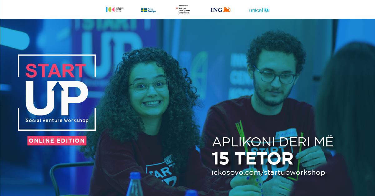 """Hapen aplikimet për edicionin e tretë të garës """"StartUP Social Venture"""" nga ICK dhe UNICEF"""