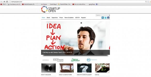 Apply for Startup Open 2013