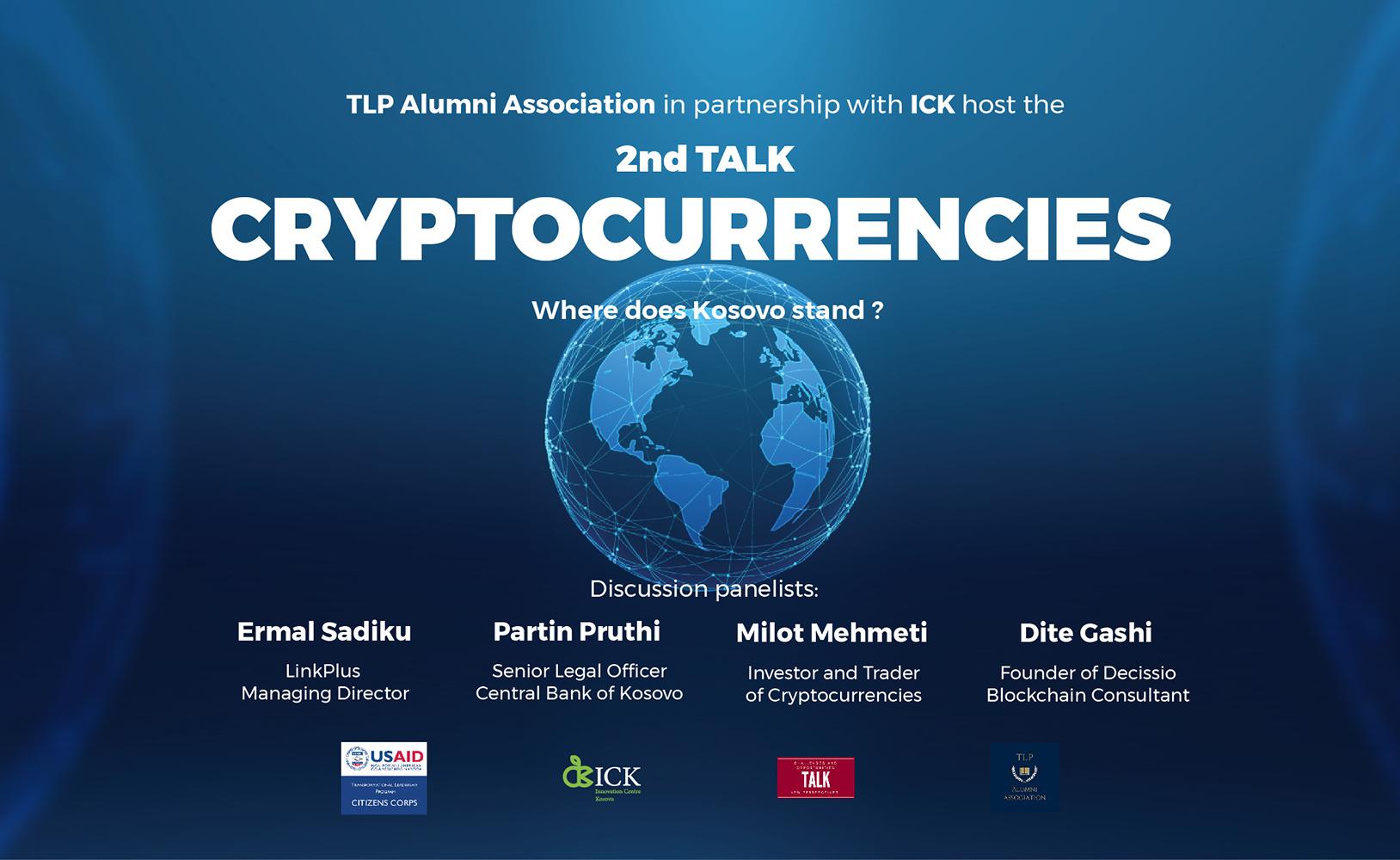 2nd TALK - Cryptocurrencies