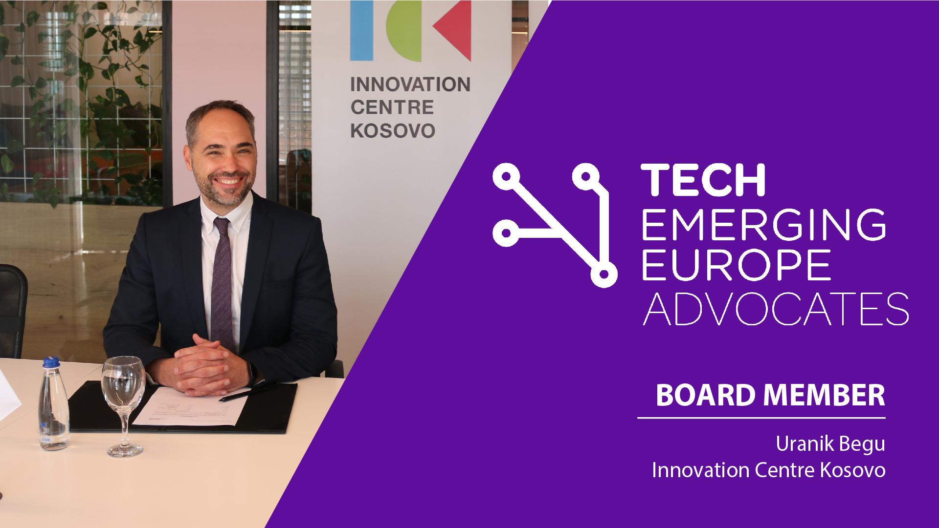 Uranik Begu emërohet anëtar bordi në Tech Emerging Europe Advocates