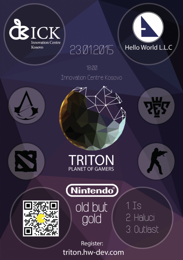 TRITON - PLANET OF GAMERS