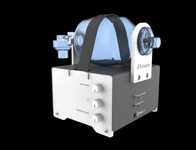 """Kompania kosovare """"Formon"""" prezanton ventilatorin për frymëmarrje VentCore"""