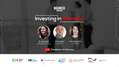 Business Tuesday: Investing in Startups