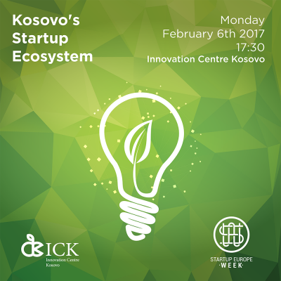 Kosovo's Startup Ecosystem   Startup Europe Week