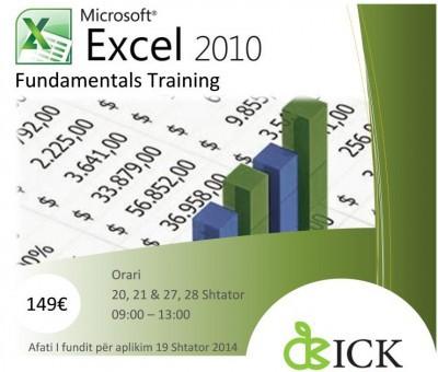 MICROSOFT EXCEL 2010 FUNDAMENTALS