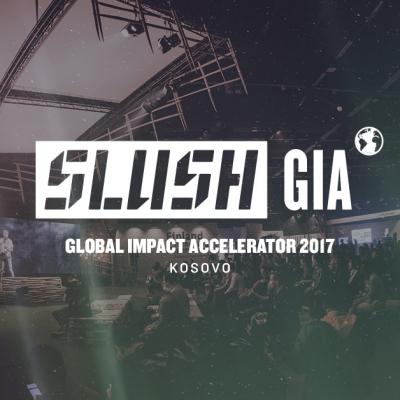 SLUSH GIA 2017 - Local Pitching Competition Kosovo