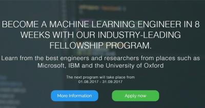 Machine Learning Fellowship Programme (Berlin)