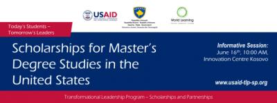USAID TLP - Master's Degree Program   Informative Session