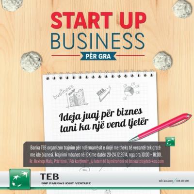 Entrepreneurship training by TEB Bank