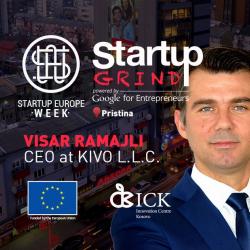 Startup Grind Prishtina presents Visar Ramajli (KIVO)