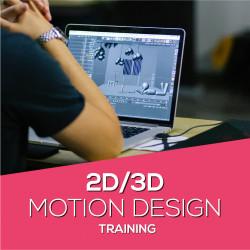 2D/3D Motion Design Training