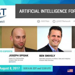 Artificial Intelligence for Startups (GIST TechConnect Webinar)