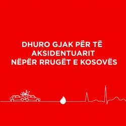 Dhuro gjak për të aksidentuarit nëpër rrugët e Kosovës