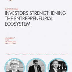 Business Tuesday: Investors strengthening the Entrepreneurial Ecosystem