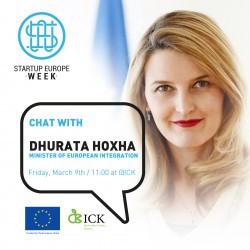 Chat with Dhurata Hoxha (Minister of European Integration)