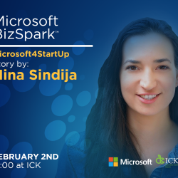 Microsoft4StartUp story by Nina Sindija