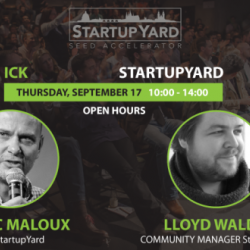 Open Hours with Cedric Maloux & Lloyd Waldo (Startup Yard)