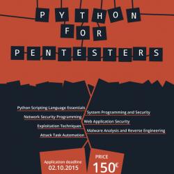 PYTHON FOR PENTESTERS